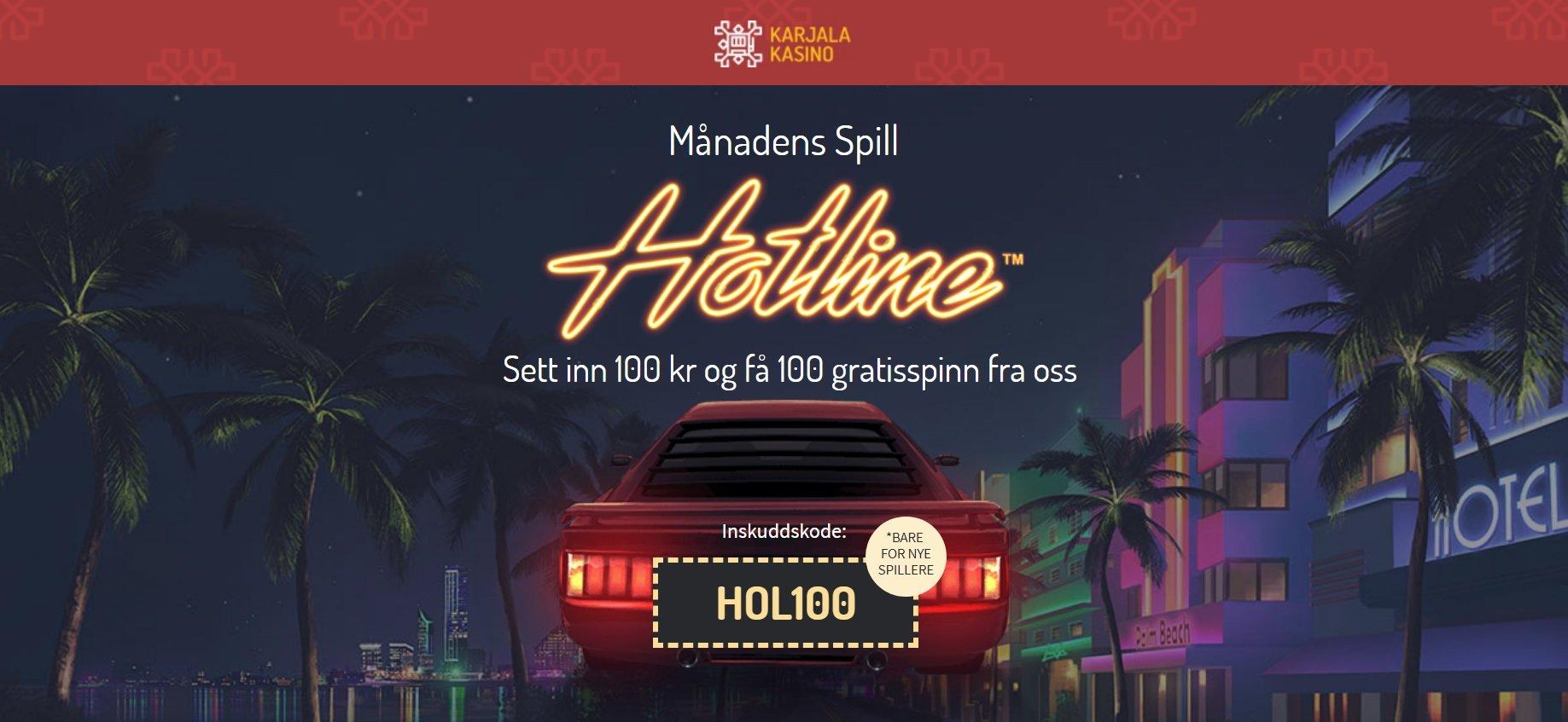 Hotline Slot Image