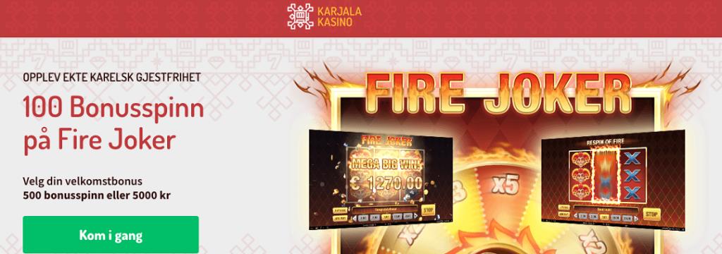 Karjala-100 bonusspinn