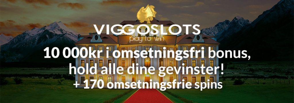 Viggoslots - Velkomstbonus 10.000 NOK og 170 gratis spins