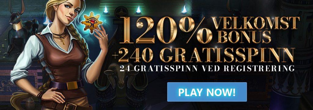 24Bettle - 24 gratis spinn bare for å registrere deg